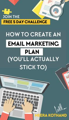 Looking for an easier way to create (and stick to) an email marketing plan? If the idea of email marketing sounds complicated this free 5-day challenge will help! You'll discover the right strategy to nail your opt-in freebie, sequences and come up with an email editorial calendar. Click here to sign-up. #smallbusiness #emailmarketing #email #bloggingtips