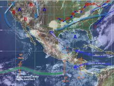 Onda tropical No. 10, ocasionarán lluvias muy fuertes: SMN