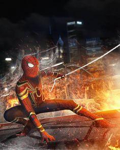 Spider-Man All Spiderman, Amazing Spiderman, Marvel Comics Superheroes, Marvel Avengers, Superhero Images, Silver Age Comics, Iron Spider, Marvel Cinematic Universe, Dc Universe