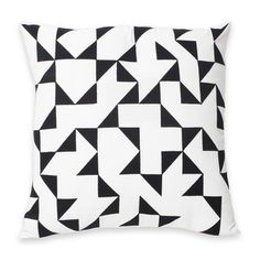 Albers V-3 Pillow Black, £40, now featured on Fab.