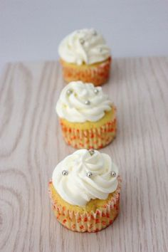Lychee Almond Cupcakes by Amy's Food Adventures