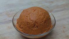 วิธีทำน้ำพริกแกงส้ม sour curry paste Ingrediant 4 dried long chilies, deseeded 4 fresh long red chilies, deseeded  1 teaspoon salt  ¼ cup .Fingers root (krachai ) ½ cup shallots  1 tablespoon shrimp paste  2 pices fish (tilapia)  เครื่องปรุง 10 เม็ดพริกขี้หนูแห้ง 2 เม็ด พริกแห้งใหญ่ 1 ชช.เกลือ 1/4 ถ้วย กระชาย 1/2 ถ้วย หอมแดง 1 ชช. กะปิ