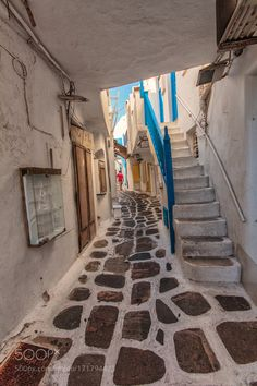 Through white alleys and blue stairs by f-alamia #architecture #building #architexture #city #buildings #skyscraper #urban #design #minimal #cities #town #street #art #arts #architecturelovers #abstract #photooftheday #amazing #picoftheday