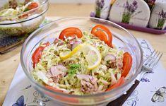 Salată de varză albă cu ton Cabbage, Vegetables, Food, Diet, Vegetable Recipes, Eten, Veggie Food, Cabbages, Meals