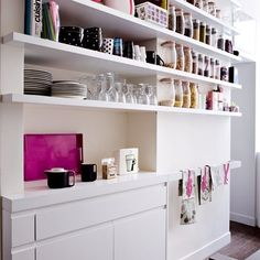 examples of  craft room storage