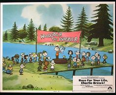 RACE FOR YOUR LIFE CHARLIE BROWN 1977 Lobby Card 6