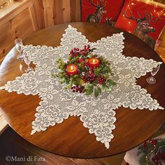 Filet Crochet, Crochet Chart, Crochet Motif, Diy Crochet, Crochet Doilies, Crochet Thread Patterns, Knitting Paterns, Crochet Hairband, Crochet Christmas Ornaments
