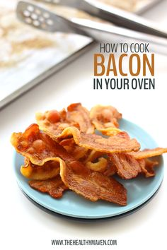 No need to worry about clean up or grease splatter with this easy tutorial on how to cook bacon in the oven for the crispiest bacon. Check it out!