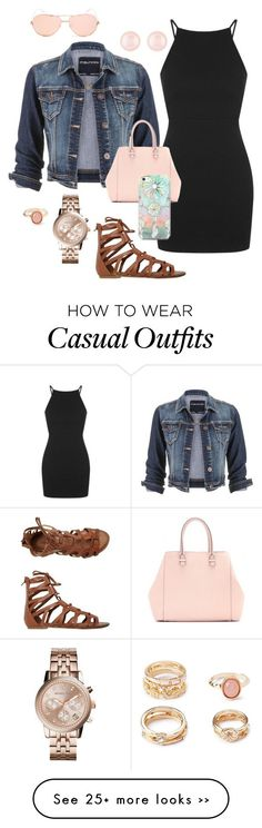 """Casual"" by nikke9doors on Polyvore featuring Topshop, O'Neill, maurices, Henri Bendel, Michael Kors, Forever 21, Linda Farrow, Victoria Beckham and Free People"