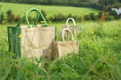 Jute Bags Being so eco-friendly and 100 percent biodegradable, jute doesn't pollute the environment like as the poly bags and plas. Jute Bags, Poly Bags, Biodegradable Products, Reusable Tote Bags, November, Profile, Blog, November Born, User Profile
