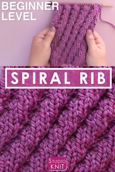 Rib Stitch Knitting, Knitting Paterns, Knitting Videos, Loom Knitting, Knitting Stitches, Free Knitting, Rib Knit, Beginner Knitting Patterns, Stitch Patterns