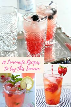 If you want the summer cocktails without the hangover, here's the latest pimped drink trend. 14 summer lemonade recipes for you to try. Champagne Cocktail, Champagne Bottles, Clean Eating Breakfast, Clean Eating Snacks, Quick Recipes, Healthy Recipes, Exotic Food, Toasted Coconut, Easy Food To Make