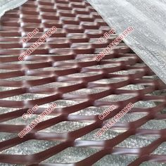 decorative aluminum expanded metal mesh panels,pvdf 3 coating aluminum metal mesh