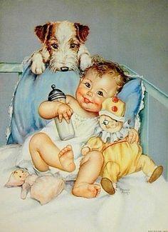 Illustration by Charlotte Becker (American, 1907--1984)