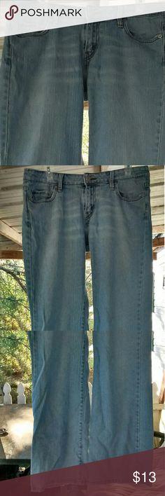 Levi's jeans Low Boot Cut 545's Levi's jeans Low Boot Cut 545's. Great condition.Size 12 short/petite Levi's Jeans Boot Cut