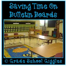 Bulletin boards can take up a lot of time or next to none. Find out how to create great looking bulletin boards that save you time.