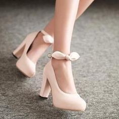 Bow-Accent Pumps from #YesStyle <3 77Queen YesStyle.co.uk