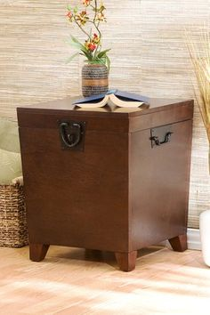 Superior Pyramid Trunk End Table By Southern Enterprises Inc. On @HauteLook