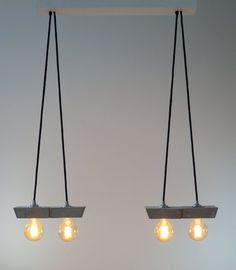 papilio: concrete lamp. pendant lamp. Ceiling light. Ceiling Canopy, Ceiling Lamp, Ceiling Lights, Plywood Furniture, Plywood Floors, Kid Furniture, Furniture Design, Cnc, Vintage Globe