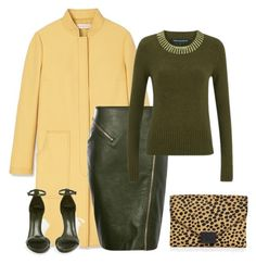 """outfit 3273"" by natalyag ❤ liked on Polyvore featuring Tory Burch, Schutz, French Connection, Loeffler Randall, women's clothing, women, female, woman, misses and juniors"