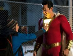 Zachary Levi and Jack Dylan Grazer in Shazam! - Zachary Levi and Jack Dylan Grazer in Shazam! – Zachary Levi and Ja - Zachary Levi, Marvel Entertainment, Entertainment Weekly, New Movie Images, Upcoming Superhero Movies, Shazam Movie, Peliculas Online Hd, Famous Last Words, Dwayne Johnson