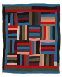 """Pieces of Power: A Selection of Quilts from Gee's Bend"", 2007, at Hiestand Galleries, School of Fine Arts, Miami University (Oxford, Ohio)"