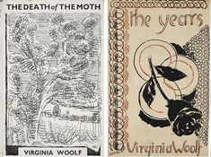 Vanessa Bell designed book covers for Virginia Woolf.