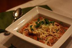 sadie + stella: S+S chow: chicken enchilada soup