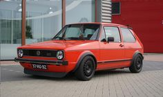 VW Golf GTI this is simply #German Power #Beauty