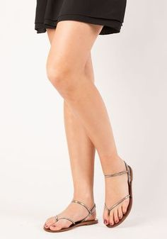 1d09f0c41d Pedro Garcia - Iciar Flat Sandal Pyrite Satin - Jildor Shoes Pedro Garcia,  Flat Sandals