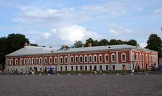 Maison du Commandant - Saint Petersbourg - Construite en 1736 par H. Demarin.