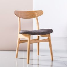Pre-Order and save on the Astrid Solid Oak Dining Chair - Fabric Seat - Icon By Design. Timeless furniture you can afford to love. Ercol Dining Chairs, Folding Dining Chairs, Dining Chairs For Sale, Mid Century Dining Chairs, Adams Furniture, Office Furniture, Furniture Ideas, Scandinavian Dining Chairs, Chairs For Small Spaces