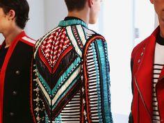 Second Kulture: Balmain Spring Summer 2015 Menswear Presentation inspire through fashion ¡nspirfación!