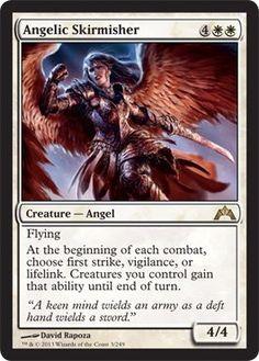 BESTSELLER! Magic: the Gathering - Angelic Skirmisher (32) - Gatecrash $0.65