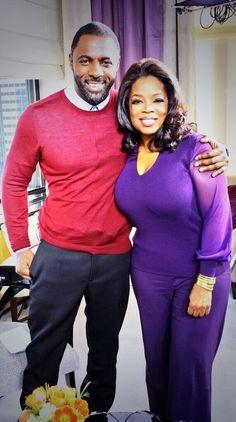 Rumor has it he's on Oprah's Favorite Things. | Literally Just 27 Pictures Of Idris Elba