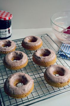 Brown Butter  Peanut Butter  Doughnuts / Scroll Down  Just  A Bit, Recipe  Is Here :)