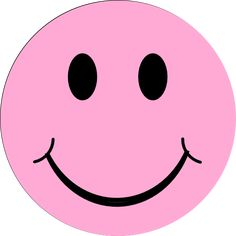 happy faces pink smiley face clip art vector clip art online rh pinterest com Small Smiley Face Clip Art No Smiley Face Clip Art