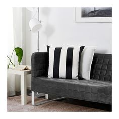 IKEA KNOPPARP two-seat sofa Small and smart packaging - easy to take home on the bus or subway.