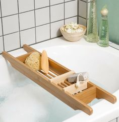 Bathtube Tray - Bamboo