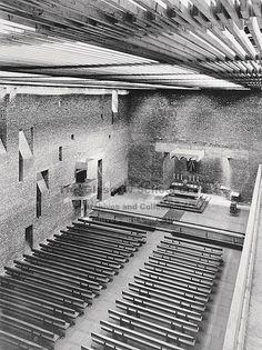 GKC/CEK/2/3/21 St Bride's, East Kilbride - 1963 by Glasgow School of Art Archives & Library, via Flickr