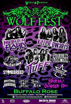 https://flic.kr/p/xLxjK6 | Wolf Fest 2015 | World Famous Johnsons LIVE Saturday October 3rd 2015 at Buffalo Rose in Golden Colorado for  Third Annual Wolf Fest 2015