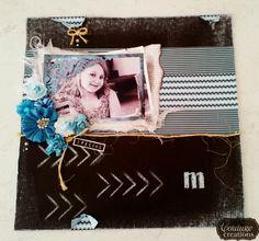 Couture Creations: Introducing Amanda Baldwin | Design Team 2014 | #couturecreationsaus #decorativedies #ornamentallacedies #paperpads #damask #chalkboard #coredinations