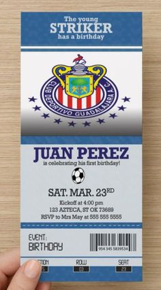 Hey, I found this really awesome Etsy listing at https://www.etsy.com/listing/233245118/chivas-de-guadalajara-soccer-ticket