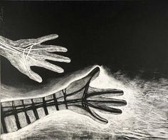 Hands by Rufino Tamayo 1960 / American Art