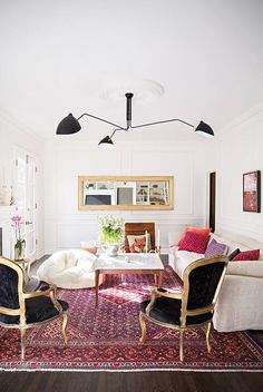 A guide to decorating with confidence in your fifties. Shop smart pieces that work with your lifestyle. Find more home decorating ideas, furniture, paint colors and prints inspiration and photos on Domino.