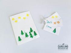 DO IT YOURSELF - WEIHNACHTSKARTEN     Bald steht Weihnachten vor der Tür. Für viele bedeutet das- auf ins Gefecht- und Geschenke kaufen! Doch damit ist man noch lange nicht fertig. Wie jedem bekannt ist steckt im Detail, die Liebe.... Cards, Christmas Is Coming, Xmas Cards, Clearance Toys, Love, Maps, Playing Cards