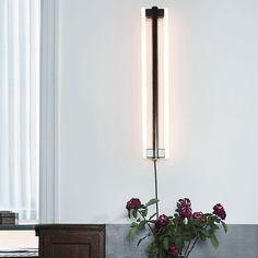 Eiffel 500 Væglampe fra FRAMA - Se alle vores lamper her! Applique, Happy New Home, Led Tubes, Entry Hall, Reception Areas, Steel Material, Nordic Design, Light Table, Sconces