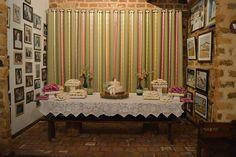 Casamento em Pirenópolis Maio/2015 - mesa do bolo