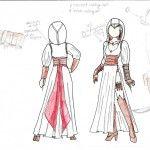 Assassins Creed Female Altair Design 01
