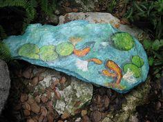 Fuente con estanques source ponds jardin garden ideas for Koi fish pond sydney